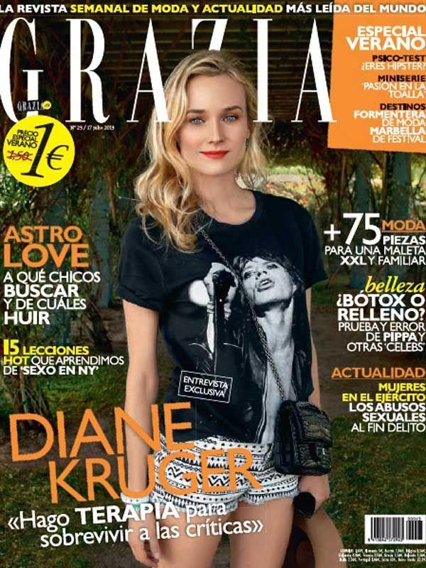 GRAZIA portada 17 de Julio 2013