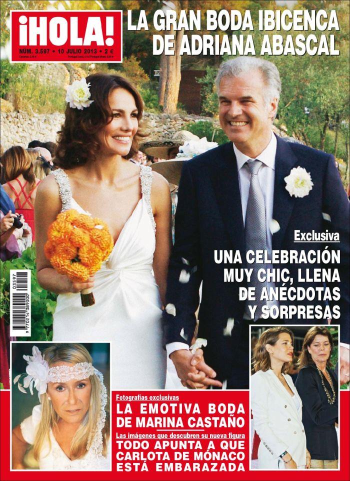 HOLA portada 8 de Julio 2013