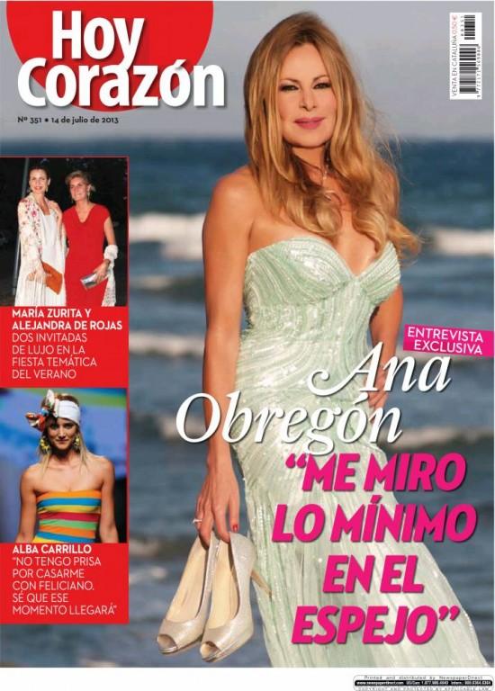 HOY CORAZON portada 15 de Julio 2013