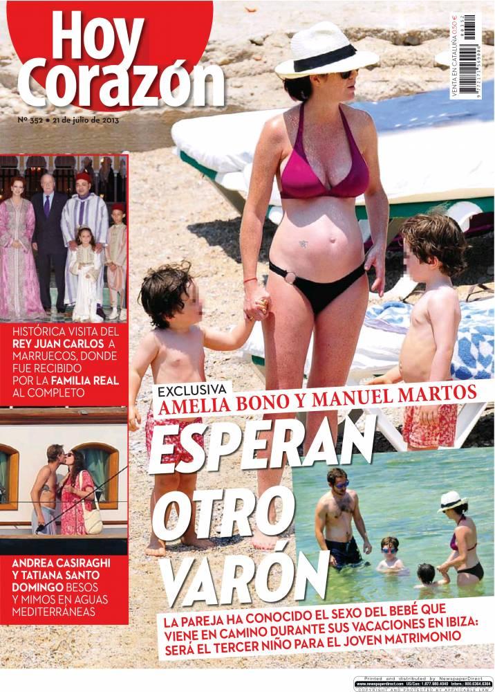 HOY CORAZÓN portada 22 de julio 2013