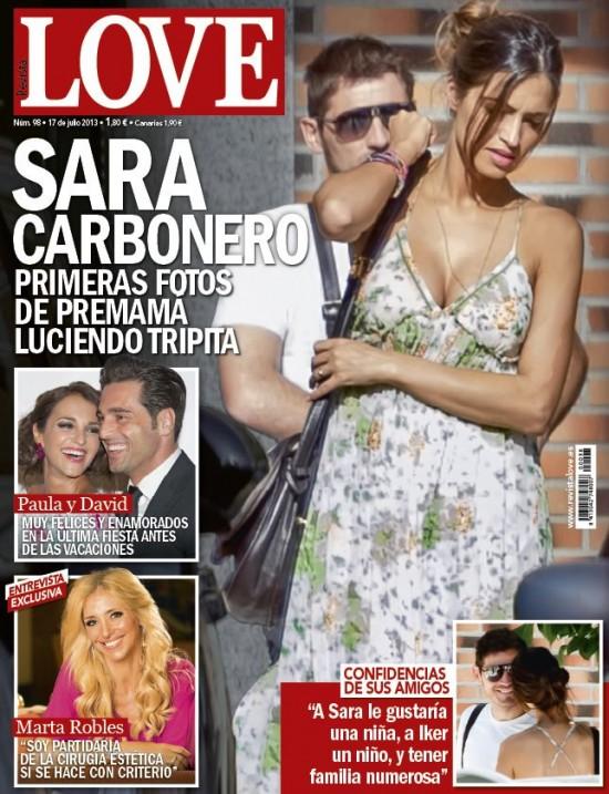 LOVE portada 10 de Julio 2013