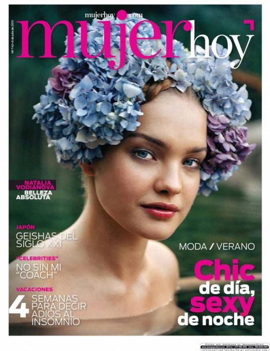 MUJER HOY portada 08 de Julio 2013