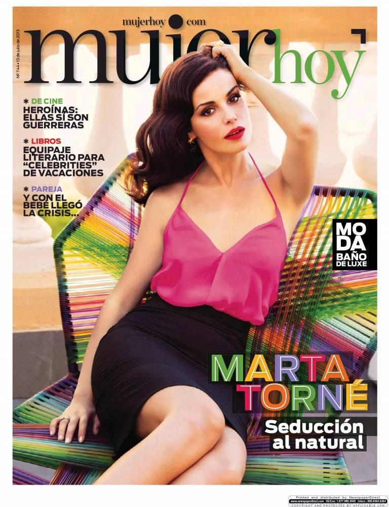 MUJER HOY portada 14 de Julio 2013