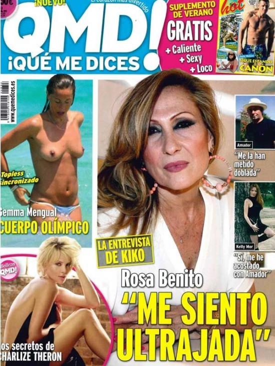 QUE ME DICES portada 15 de Julio 2013