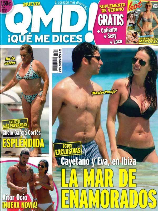 QUE ME DICES portada 22 de Julio 2013