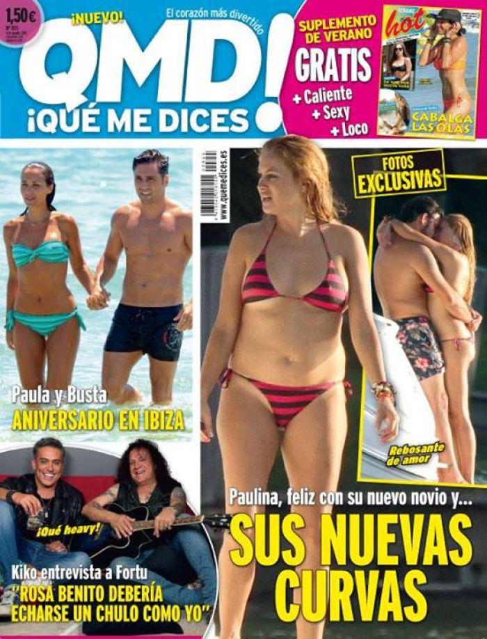 QUE ME DICES portada 29 de Julio 2013