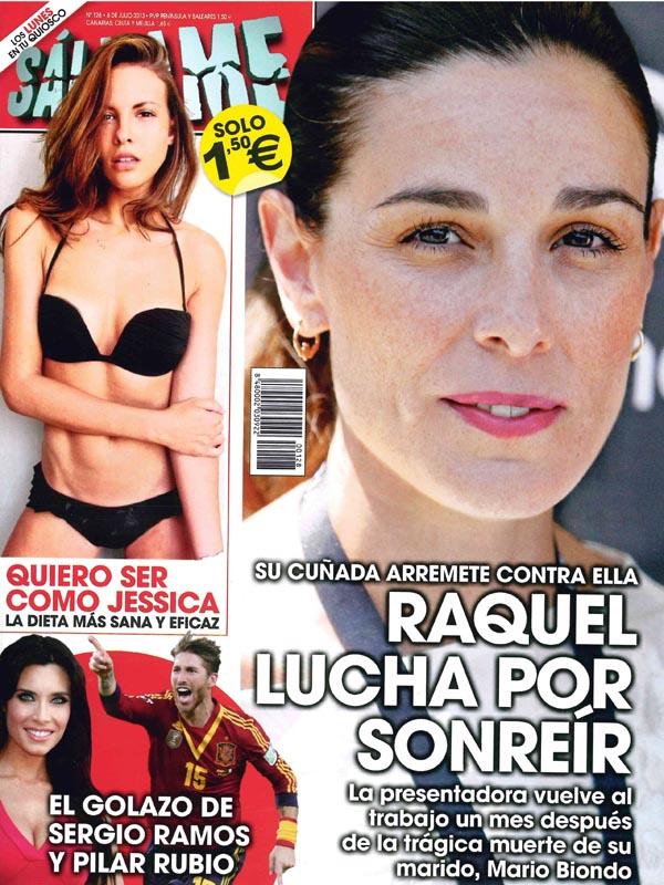 SALVAME portada 1 de Julio 2013
