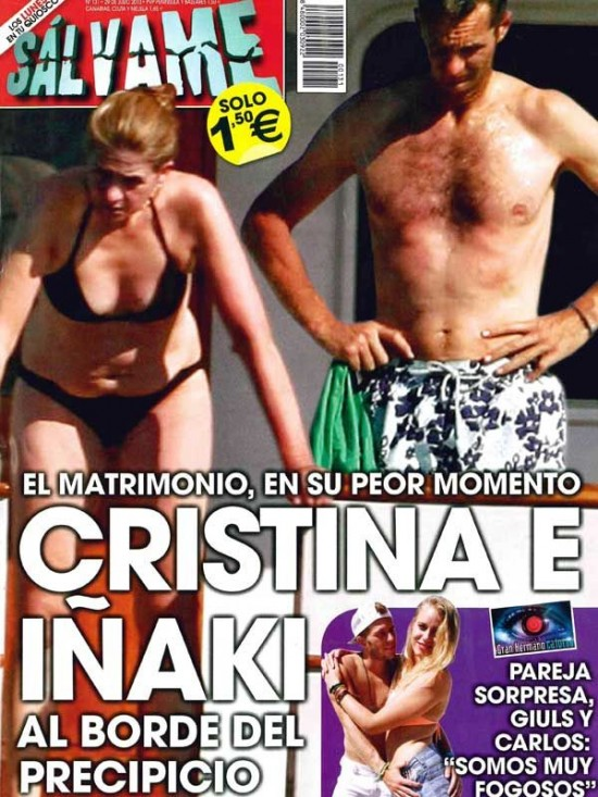 SALVAME portada 22 de Julio 2013