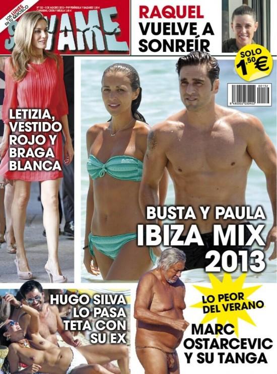 SALVAME portada 29 de Julio 2013