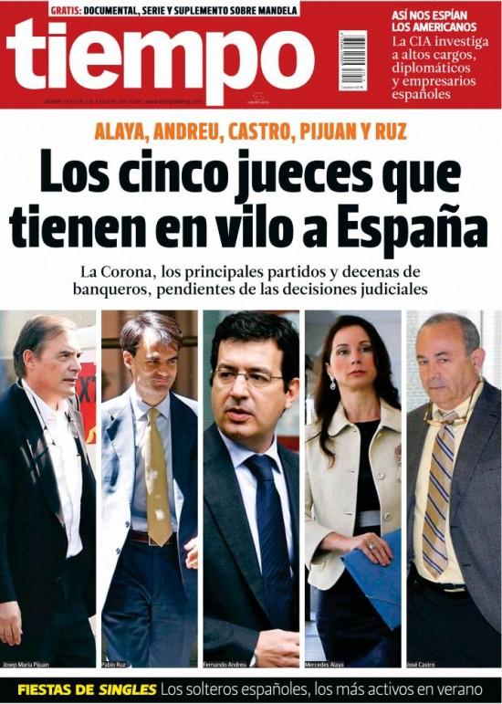TIEMPO portada 08 de Julio 2013