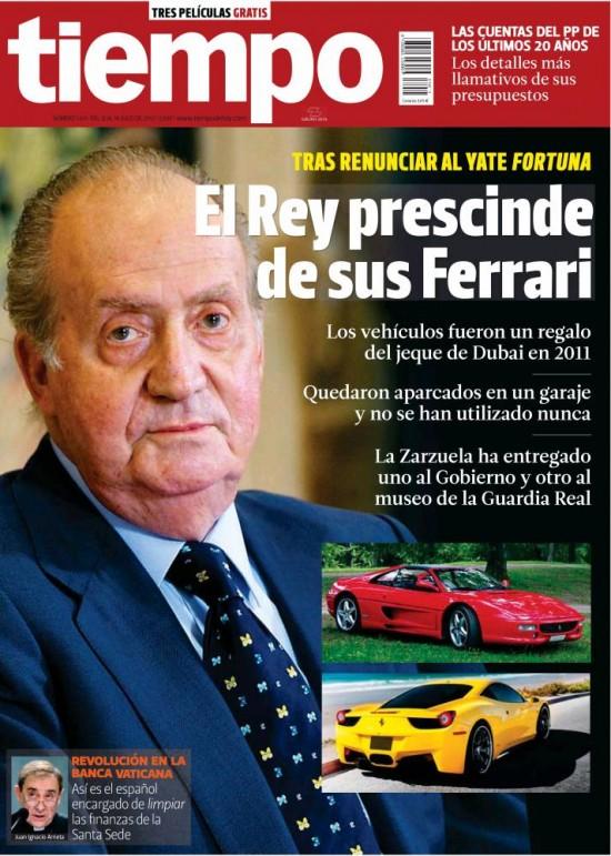 TIEMPO portada 14 de julio 2013