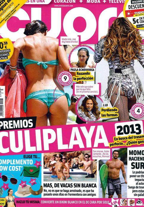 CUORE portada 14 de Agosto 2013
