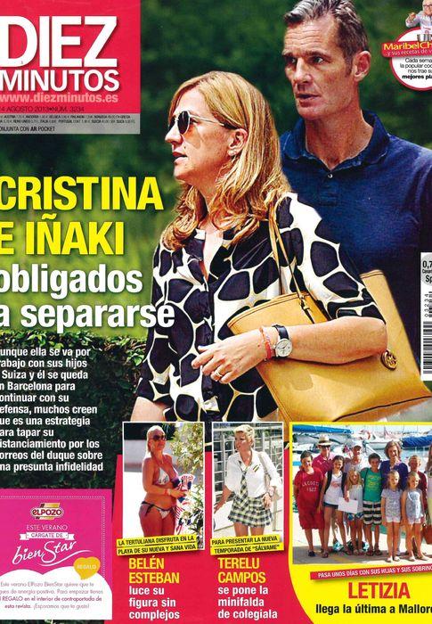 DIEZ MINUTOS portada 7 de Agosto 2013
