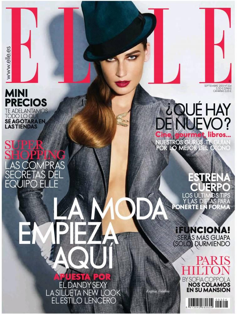 ELLE portada Septiembre 2013