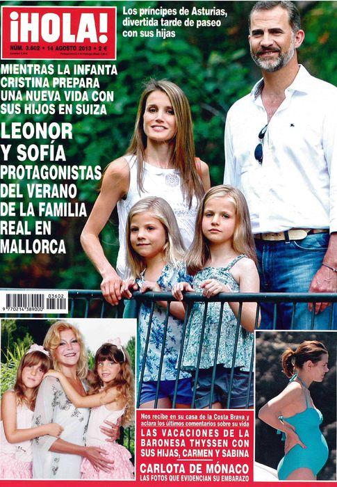 HOLA portada 7 de Agosto 2013