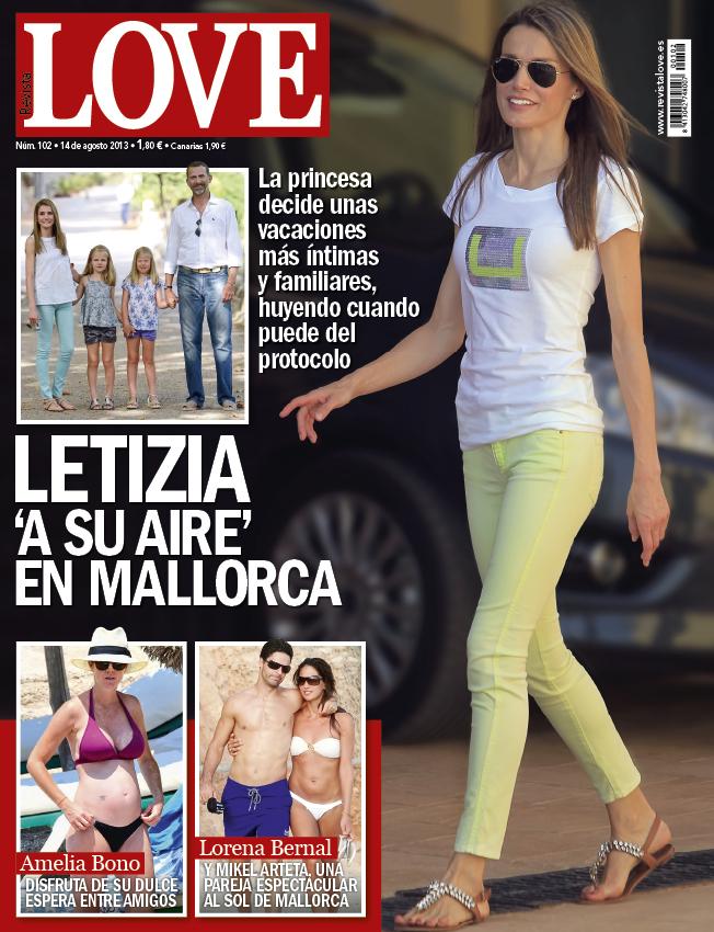LOVE portada 7 de Agosto 2013