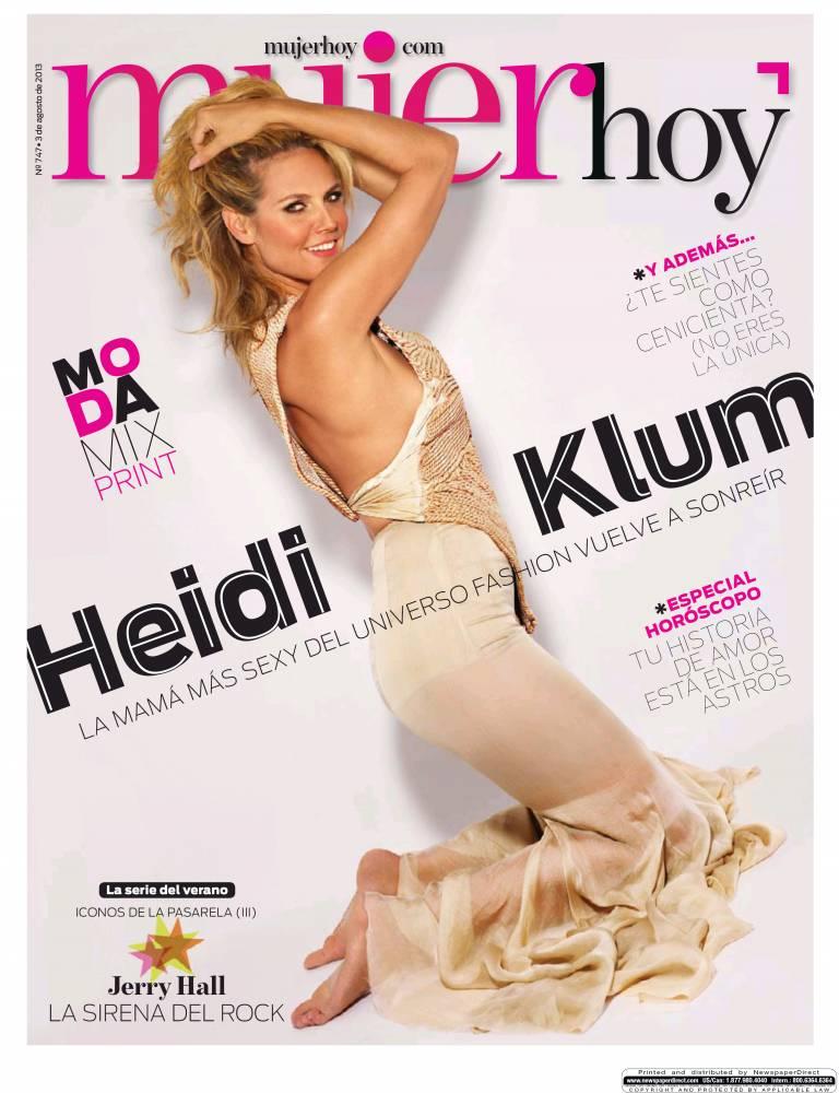 MUJER HOY portada 04 de Agosto 2013