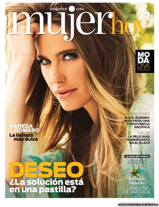 MUJER HOY portada 11 de Agosto 2013