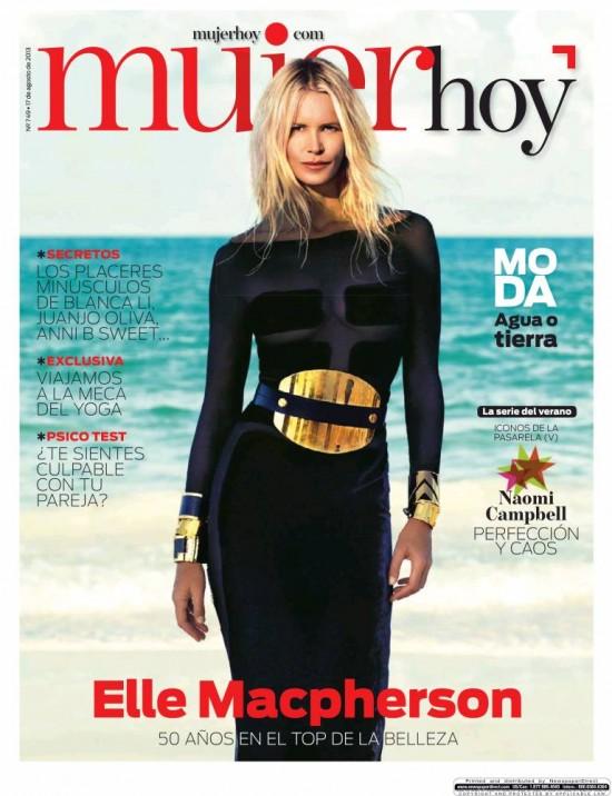 MUJER HOY portada 18 de Agosto 2013