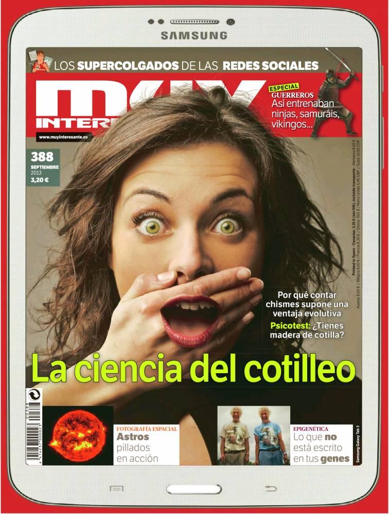 MUY INTERESANTE portada Septiembre 2013