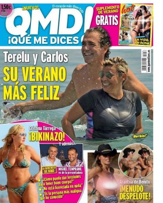 QUE ME DICES portada 19 de Agosto 2013