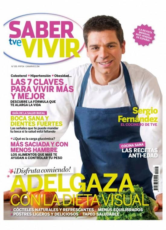 SABER VIVIR portada Septiembre 2013