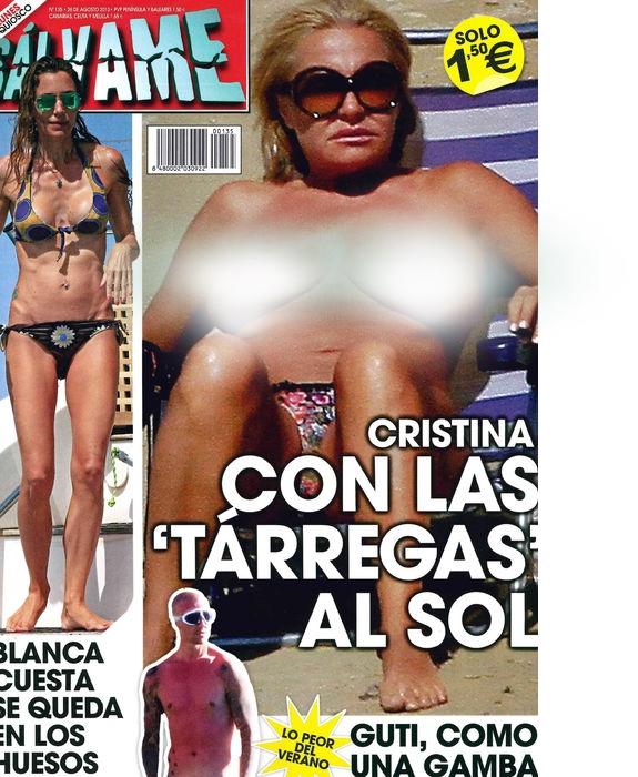 SALVAME portada 19 de Agosto 2013