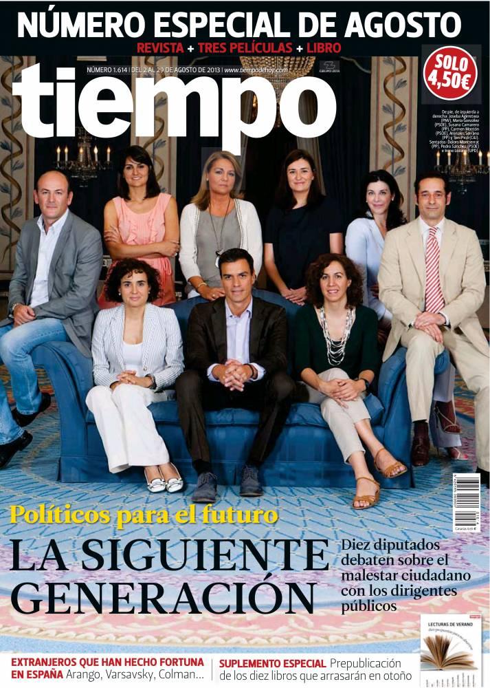 TIEMPO portada 04 de Agosto 2013