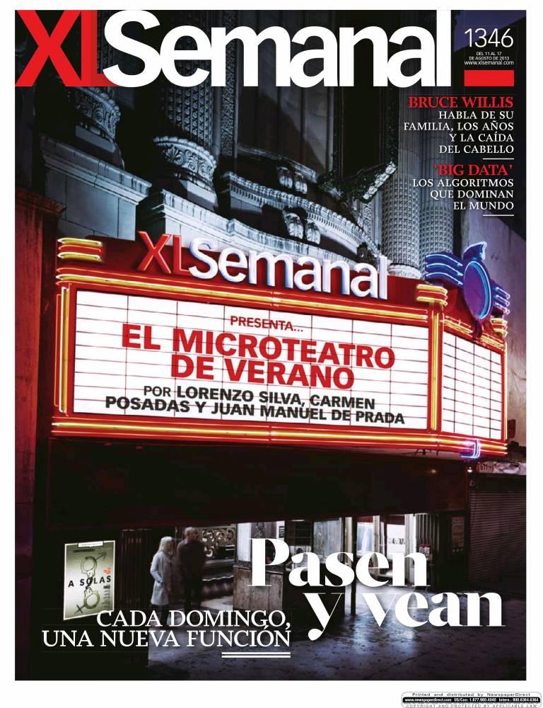 XL SEMANAL portada 11 de Agosto 2013