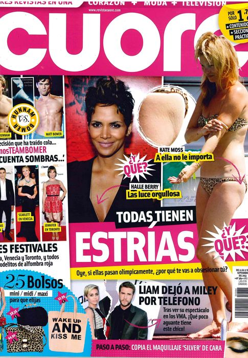 CUORE portada 11 de Septiembre 2013