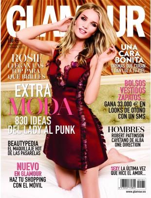 GLAMOUR portada Septiembre 2013