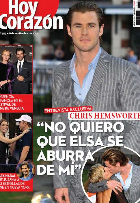 HOY CORAZON portada 9 de Septiembre 2013