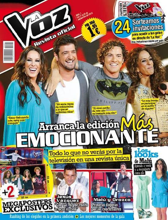 LA VOZ portada 23 de Septiembre 2013