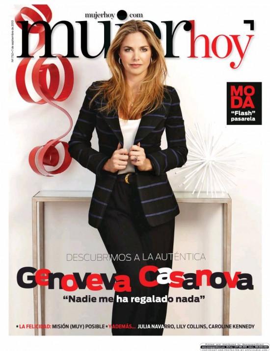MUJER HOY portada 8 Septiembre 2013