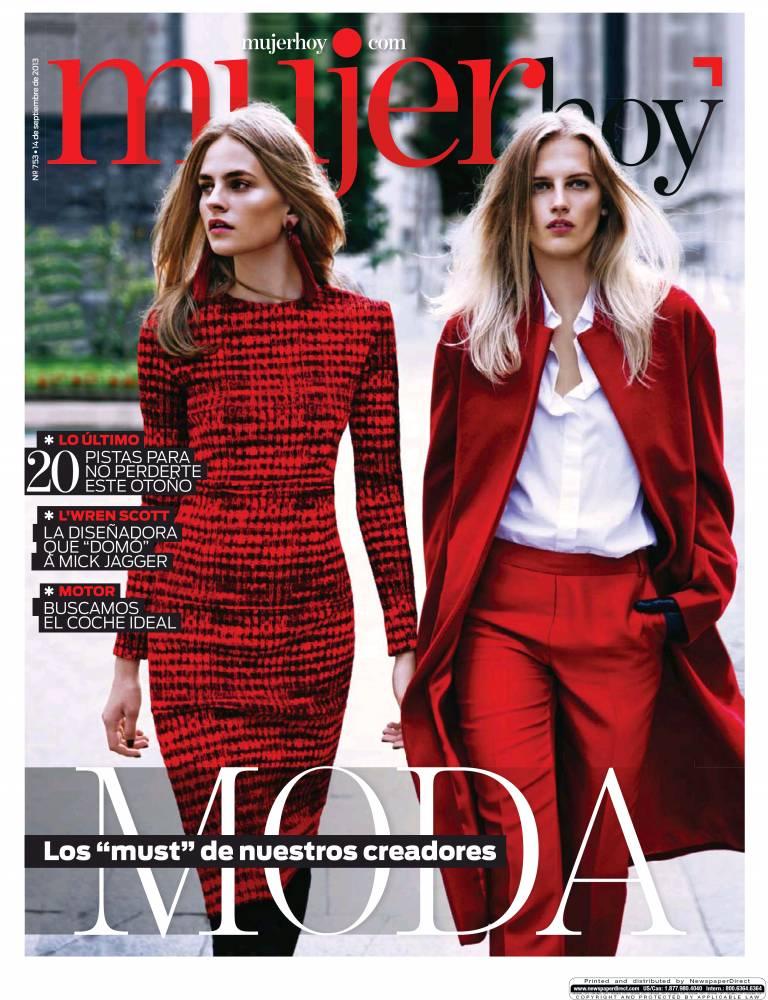 MUJER HOY portada 15 de Septiembre 2013