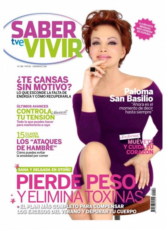 SABER VIVIR portada Octubre 2013