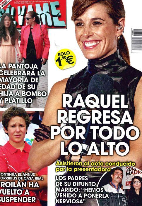 SALVAME portada 16 de Septiembre 2013