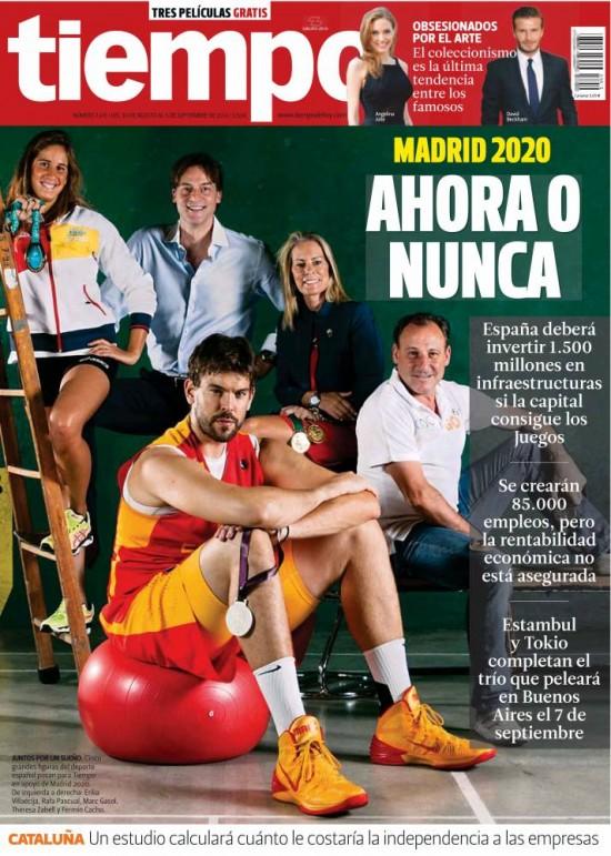 TIEMPO portada 01 Septiembre 2013