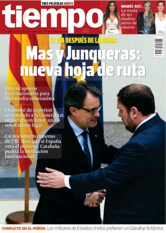 TIEMPO portada 14 de Septiembre 2013