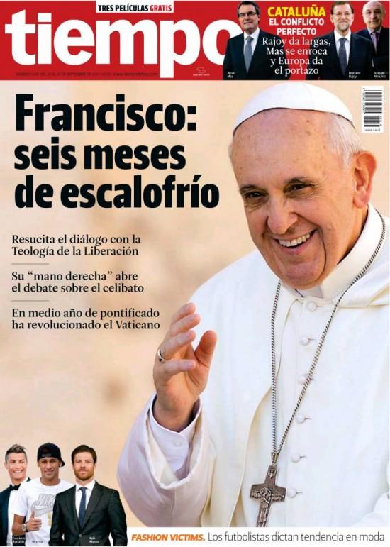 TIEMPO portada 22 de Septiembre 2013