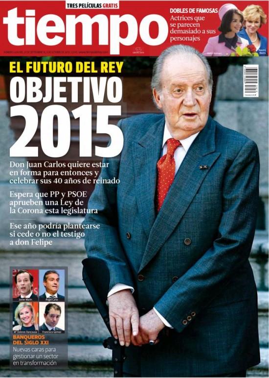 TIEMPO portada 29 de Septiembre 2013