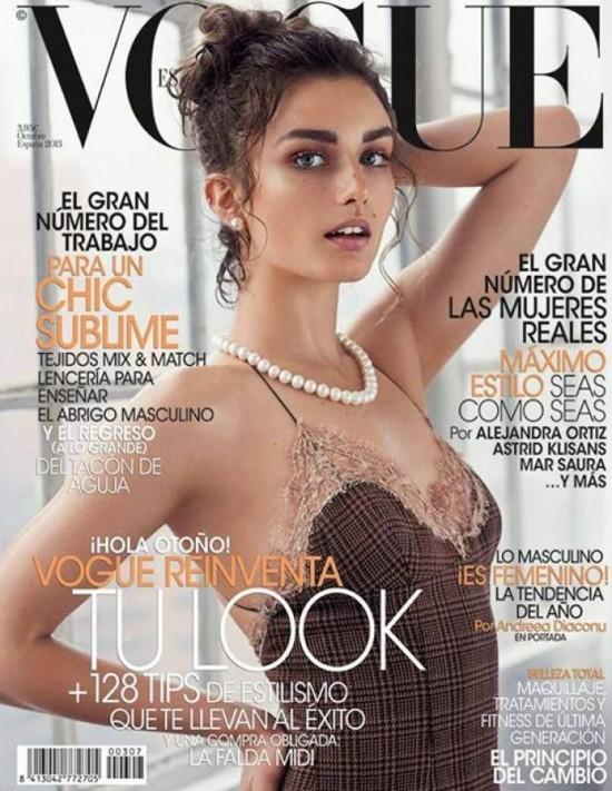 VOGUE portada Octubre 2013
