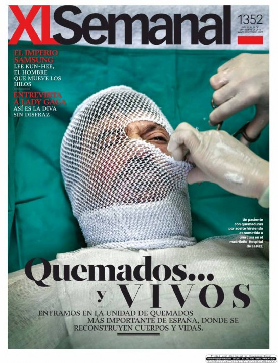 XL SEMANAL portada 22 de Septiembre 2013