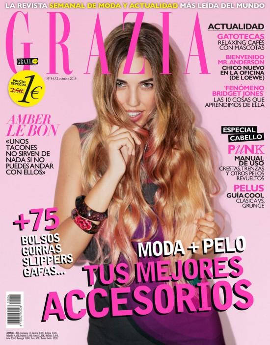 GRAZIA portada 2 de octubre 2013