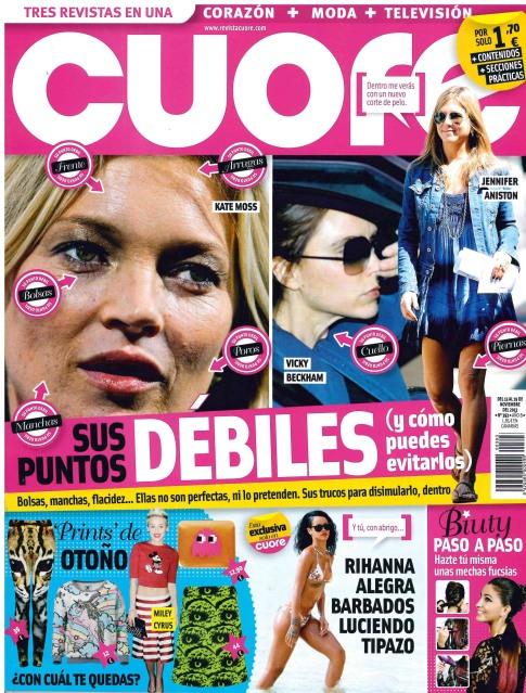 CUORE portada 13 de Noviembre 2013