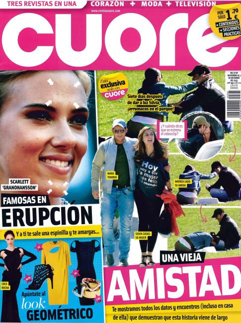 CUORE portada 27 de Noviembre 2013