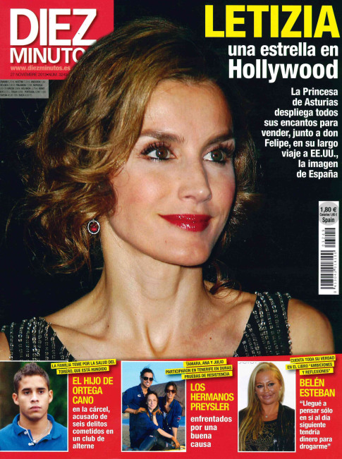 DIEZ MINUTOS portada 20 de Noviembre 2013