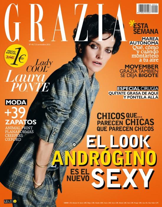 GRAZIA portada 12 de Noviembre 2013