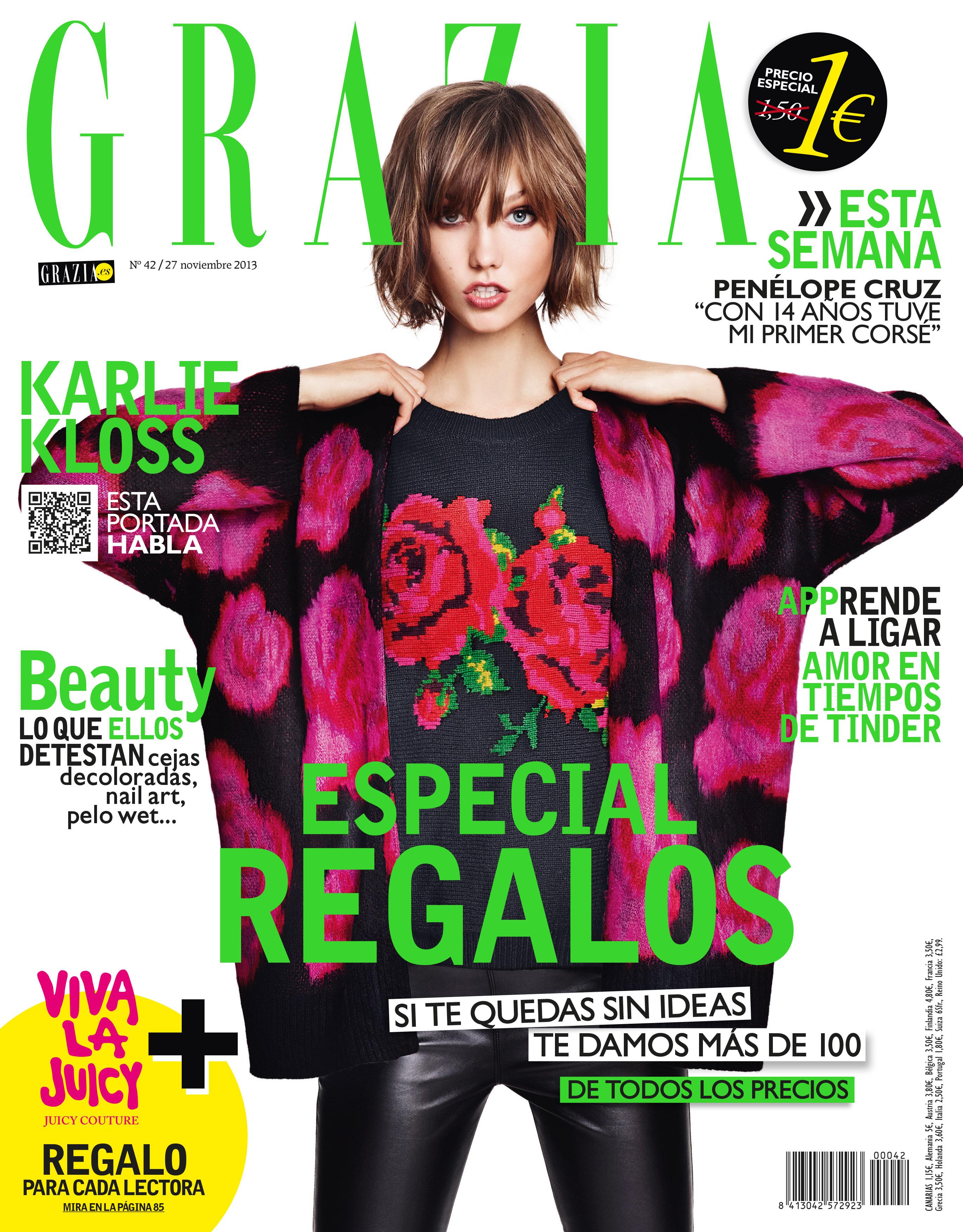GRAZIA portada 27 noviembre 2013