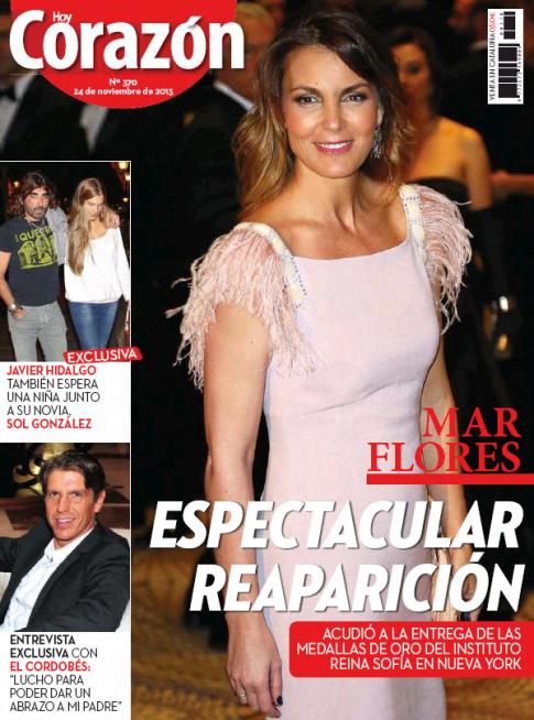 HOY CORAZON portada 25 de Noviembre 2013